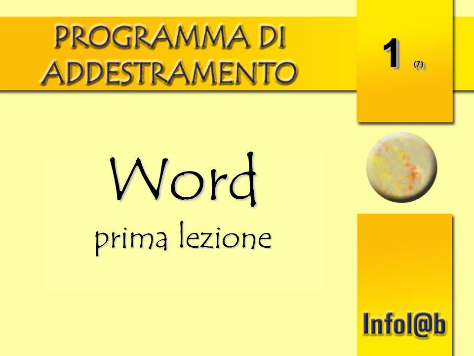 1 (7) Word prima lezione