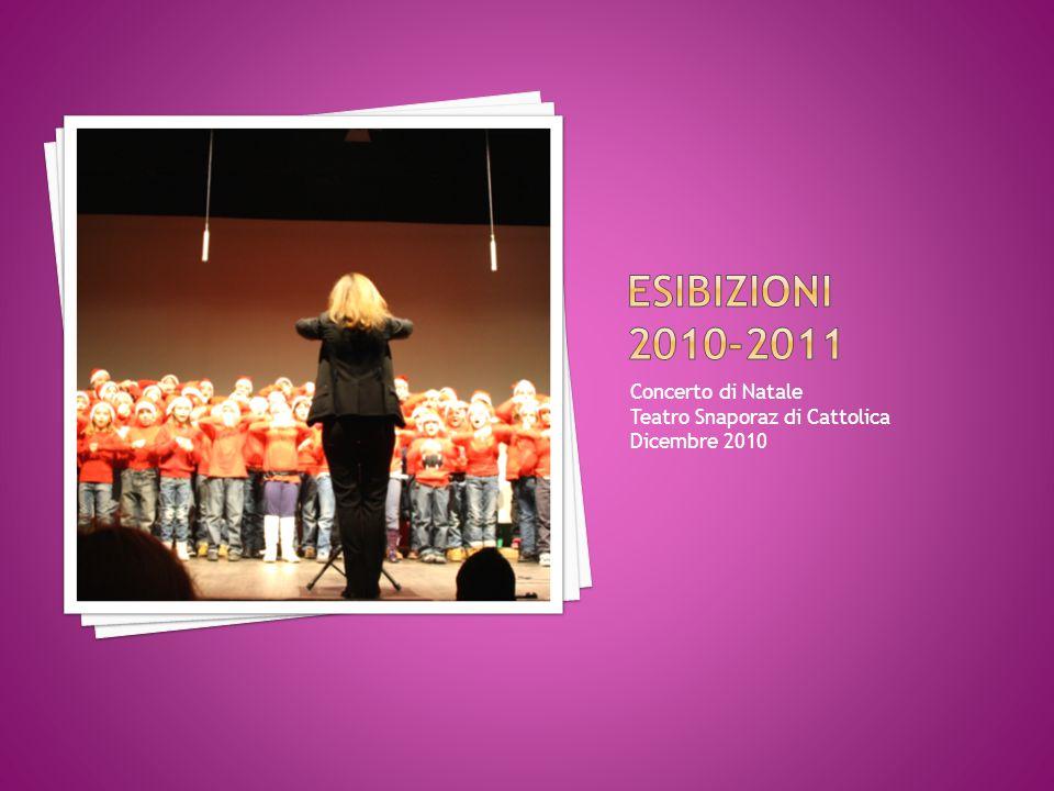 Concerto di Natale Teatro Snaporaz di Cattolica Dicembre 2010