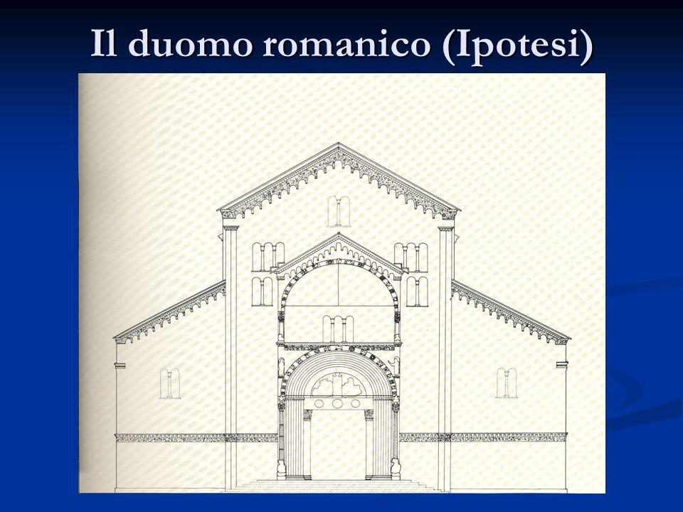 Il sigillo sepolcrale di papa Lucio III° Tra la cappella Mazzanti e l'organo della navata di destra il visitatore si trova di fronte al sigillo tmbale di papa Lucio III°, morto a Verona nel 1185.