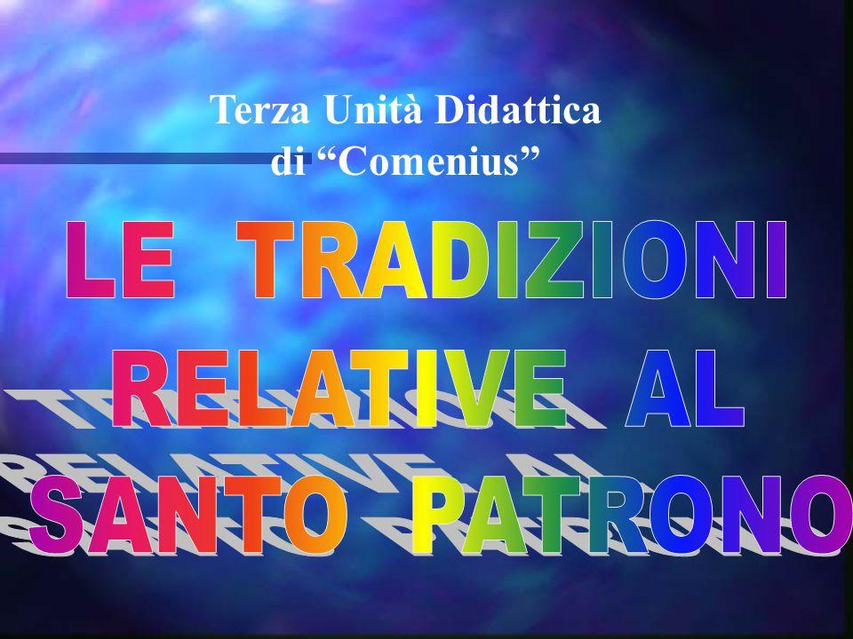 Terza Unità Didattica di Comenius