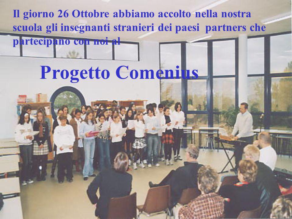 1° INCONTRO COMENIUS OTTOBRE 2003 ITALIA First Comenius Meeting October 2003 – Italy