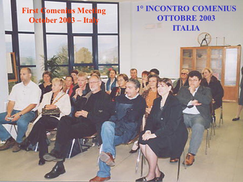 Titolo del progetto:/Project Title: Pari Opportunità per i Cittadini d'Europa Common Opportunities for European Citizen