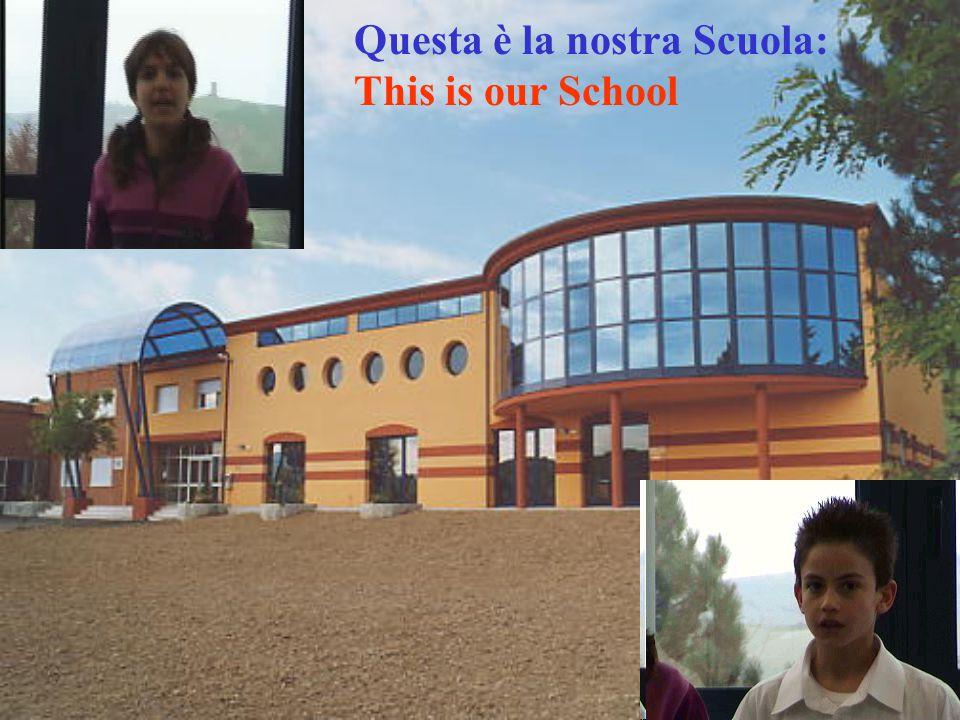Al piano inferiore si trovano le aule per le scuole Elementari di Casinina e di Ca'Gallo e i nuovi uffici di Presidenza, e delle segreterie.