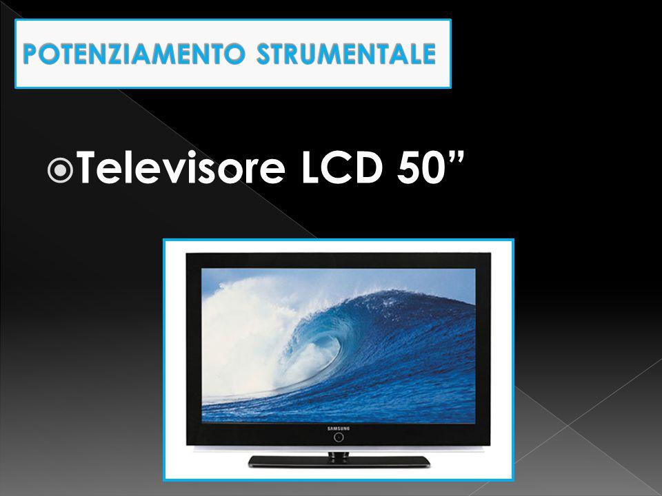 " Televisore LCD 50"""