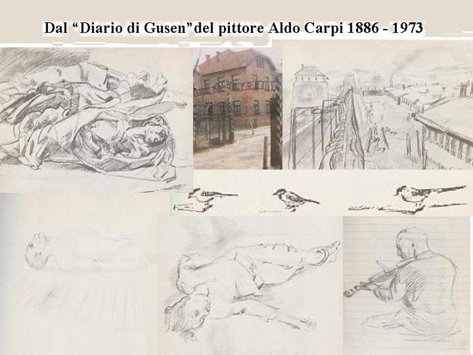 """Dal """"Diario di Gusen""""del pittore Aldo Carpi 1886 - 1973"""