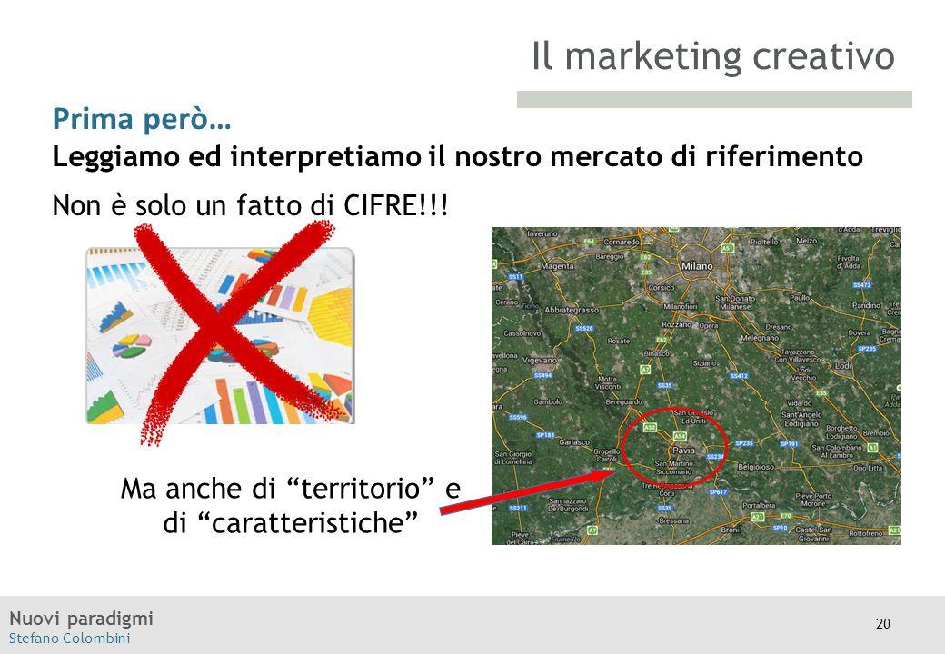 Nuovi paradigmi Stefano Colombini TITOLO Moodle Prima però… Leggiamo ed interpretiamo il nostro mercato di riferimento Non è solo un fatto di CIFRE!!!
