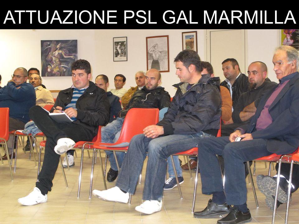 ATTUAZIONE PSL GAL MARMILLA RIEPILOGO - MISURA 312 BURAS19.11.201119.01.2012 Budget€.