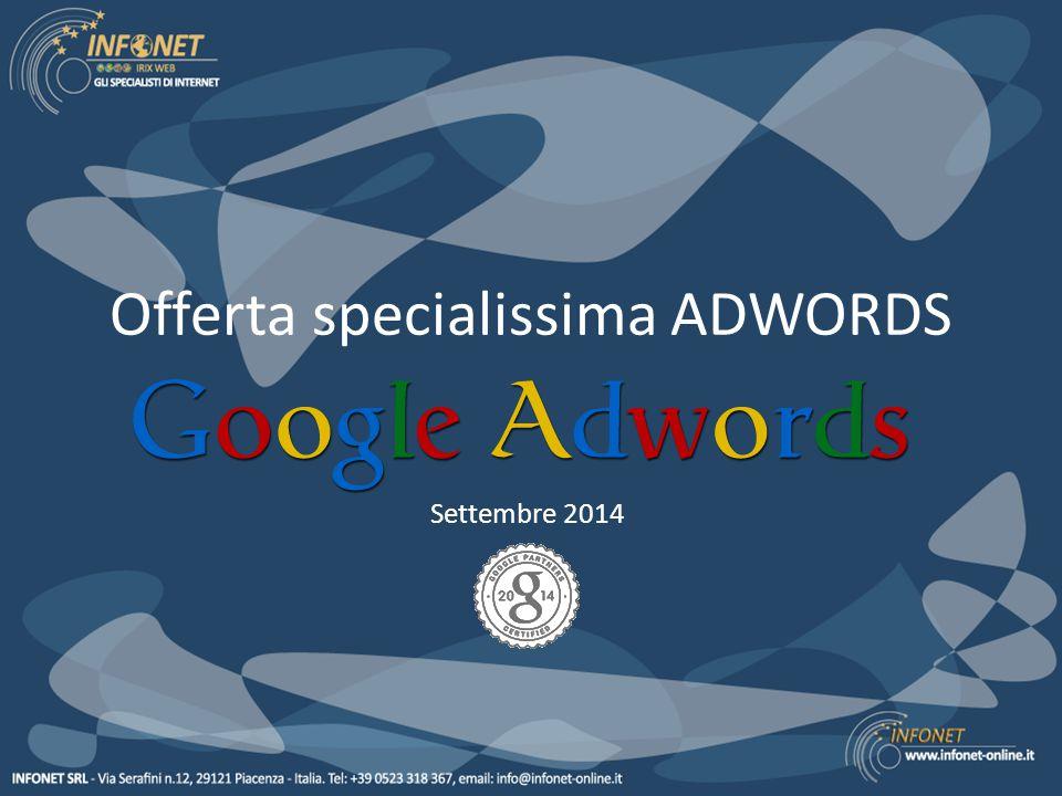 Offerta specialissima ADWORDS Settembre 2014