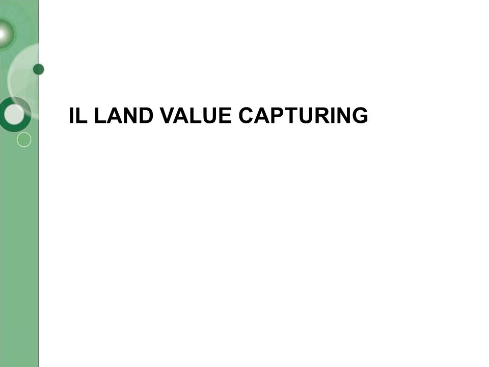 IL LAND VALUE CAPTURING