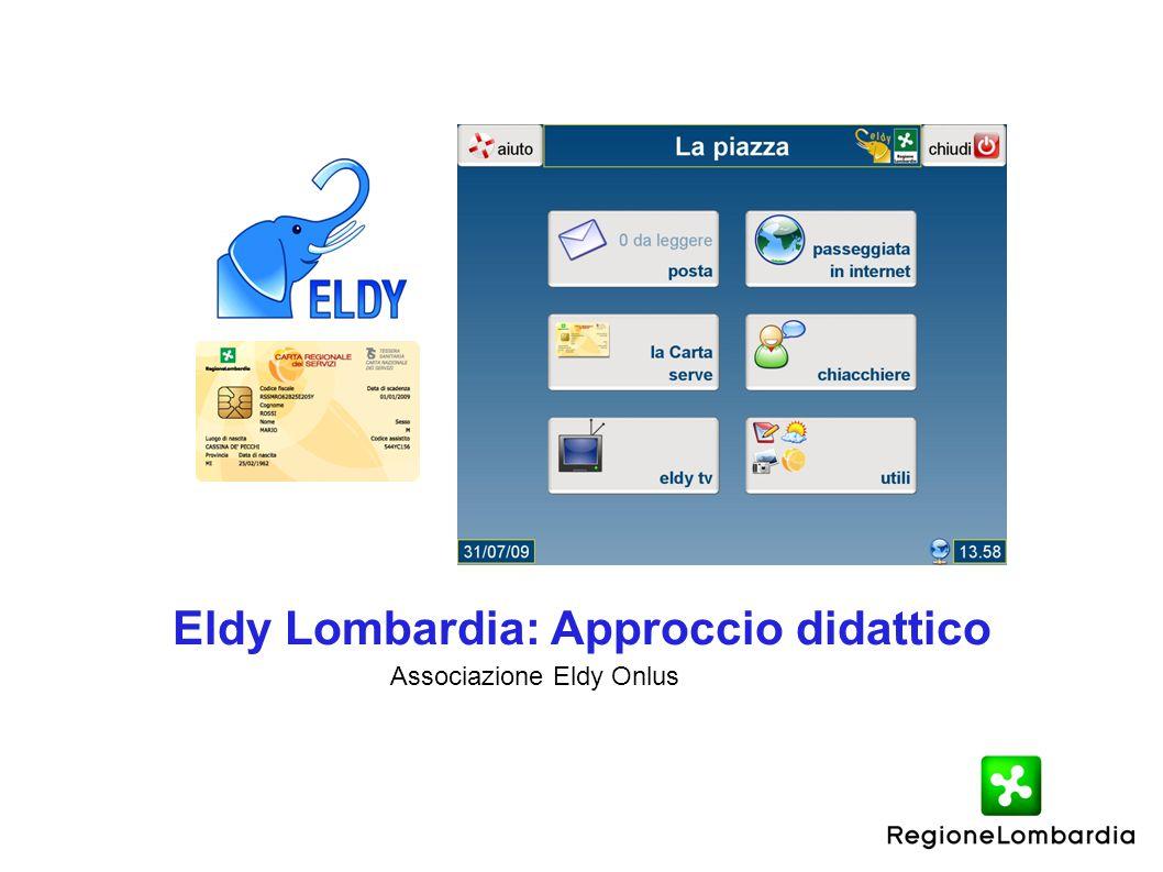 Eldy Lombardia: Approccio didattico Associazione Eldy Onlus
