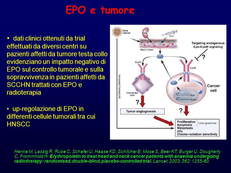 Meccanismo di riparo del DNA L'EPO, la RT e l'ipossia da sola up-regolano l'espressione di XRCC1.