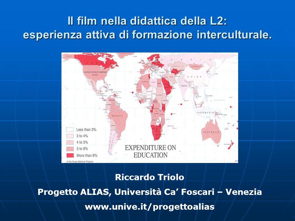 Il film nella didattica della L2: esperienza attiva di formazione interculturale.