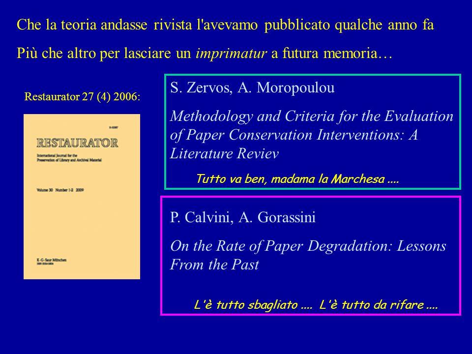 restaurator calvini zervos Restaurator 27 (4) 2006: S.