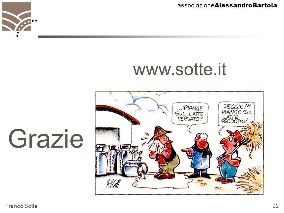 associazione AlessandroBartola Franco Sotte 22 Grazie www.sotte.it