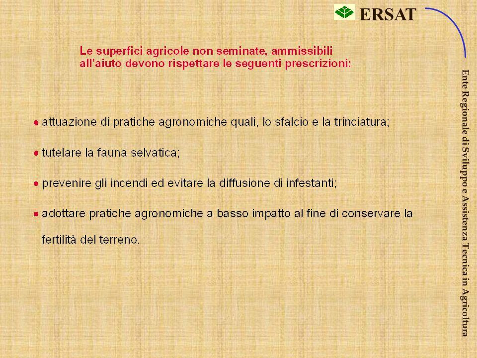ERSAT Ente Regionale di Sviluppo e Assistenza Tecnica in Agricoltura