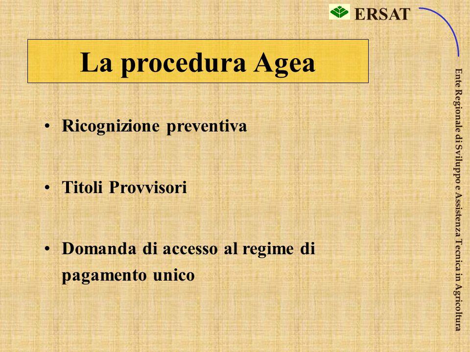 ERSAT Ente Regionale di Sviluppo e Assistenza Tecnica in Agricoltura Buone Condizioni Agr. Amb. DOVE? COSA FARE? (7) (7) Sui seminativi ritirati dalla