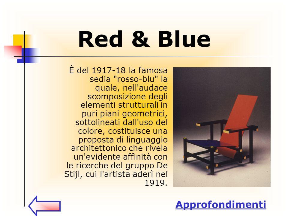Red & Blue È del 1917-18 la famosa sedia