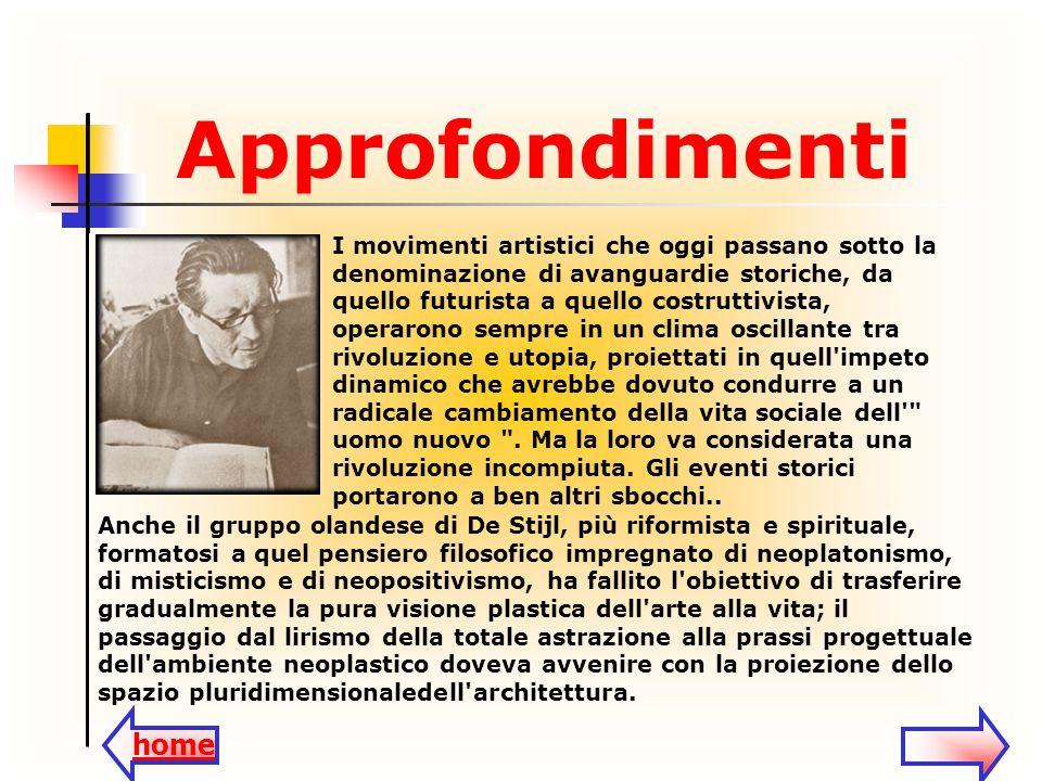 I movimenti artistici che oggi passano sotto la denominazione di avanguardie storiche, da quello futurista a quello costruttivista, operarono sempre i