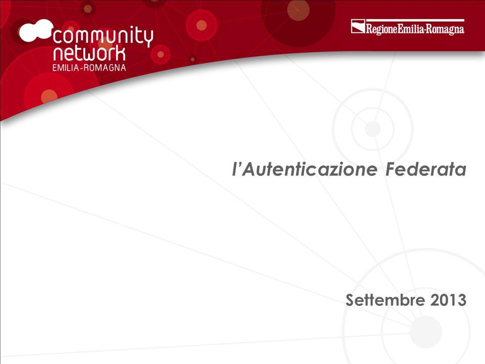 l'Autenticazione Federata Settembre 2013