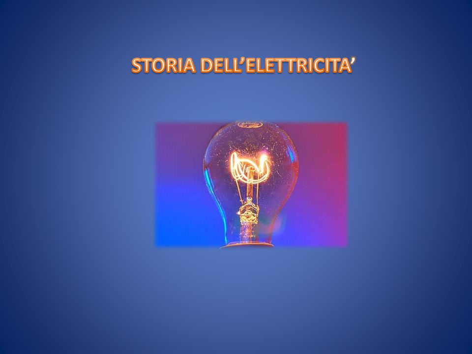 SCOPERTA DELL'ELETTRICITA' BENJAMIN FRANKLIN ALESSANDRO VOLTAAUGUSTINE DE COULOMBNIKOLA TESLA VARI SCIENZIATI FENOMENI ELETTRICI NOTI DA OLTRE 2000 ANNI PRIMI STUDI TALETE [600 a.c.] PROPRIETA' ELETTRICHE AMBRA FORZE ELETTRICHE POSITIVO + POSITIVO = X NEGATIVO + NEGATIVO = X POSITIVO + NEGATIVO = V NEGATIVO + POSITIVO = V LEGGE DI COULOMB CHE COSA SIGNIFICA ELETTRICITA ' DAL GRECO ELEKTRON (AMBRA)  GILBERT ESAMINO' PROPRIETA' MATERIALI ParafulminePilaOnde RadioGalvanometroMagnetismo