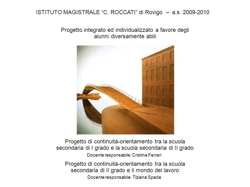 ISTITUTO MAGISTRALE C. ROCCATI di Rovigo – a.s.