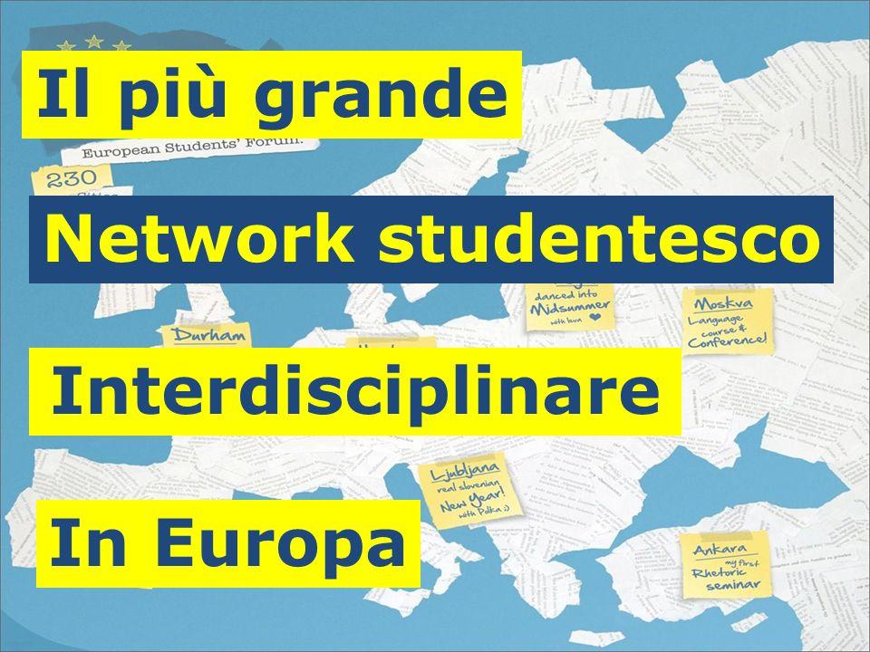 Il più grande Interdisciplinare In Europa Network studentesco