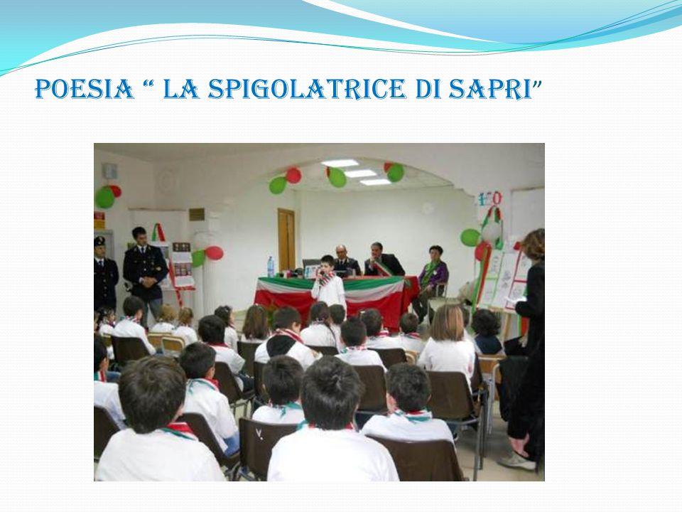 """POESIA """" LA SPIGOLATRICE DI SAPRI """""""