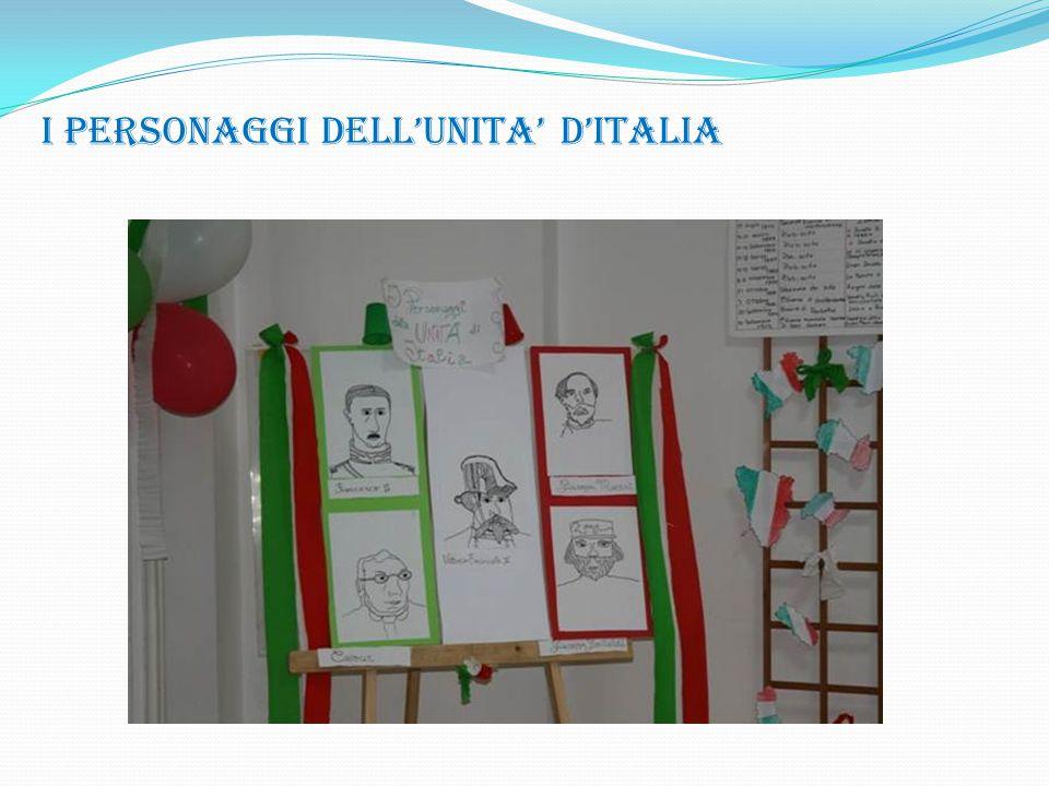 I PERSONAGGI DELL'UNITA' D'ITALIA