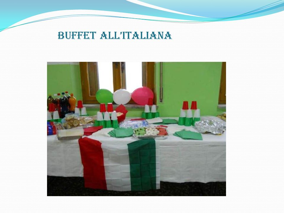 BUFFET ALL'ITALIANA