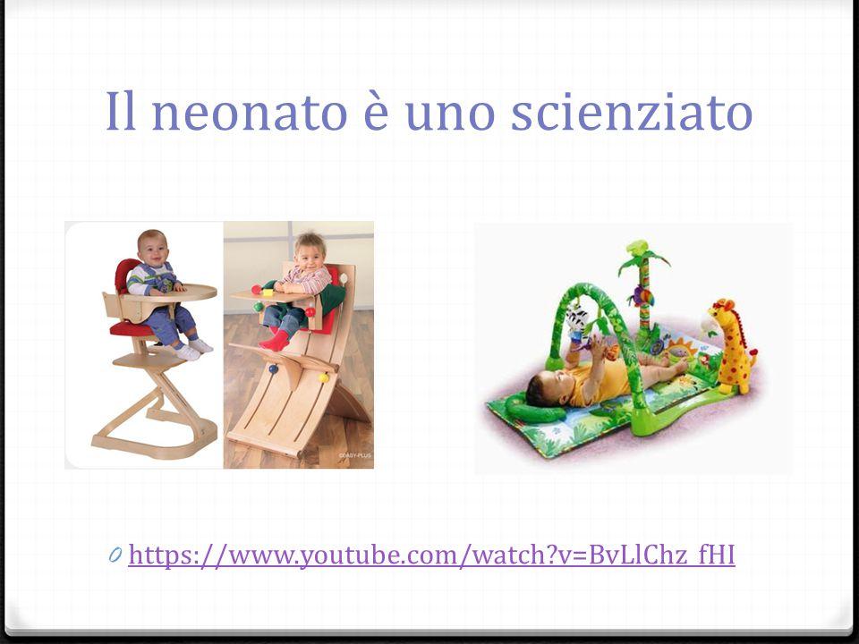 Il neonato è uno scienziato 0 https://www.youtube.com/watch?v=BvLlChz_fHI https://www.youtube.com/watch?v=BvLlChz_fHI