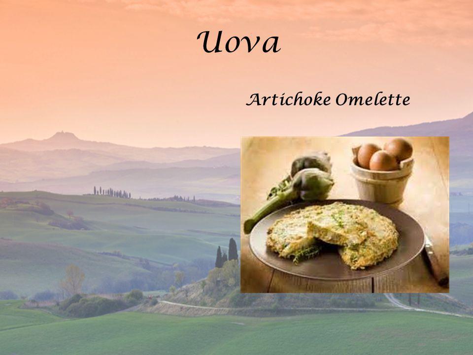 Uova Artichoke Omelette