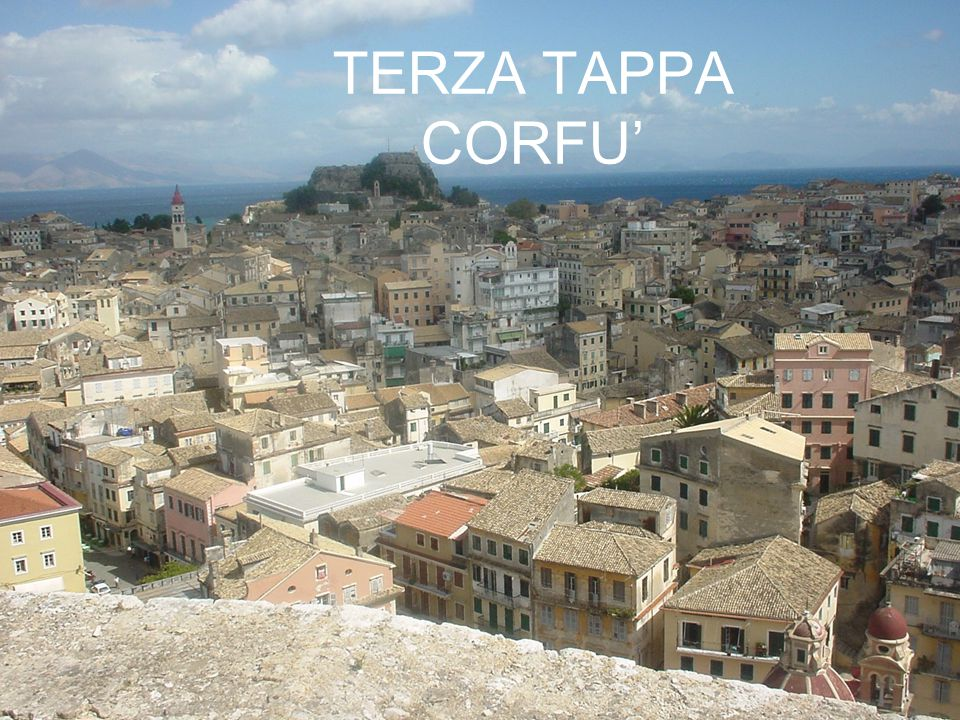 TERZA TAPPA CORFU'