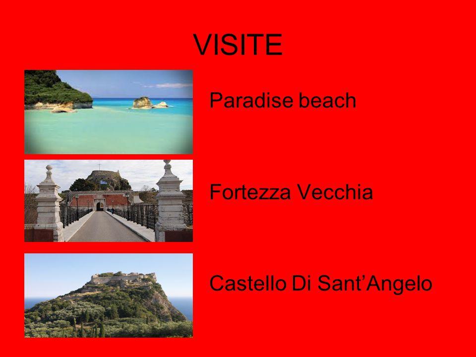 VISITE Paradise beach Fortezza Vecchia Castello Di Sant'Angelo