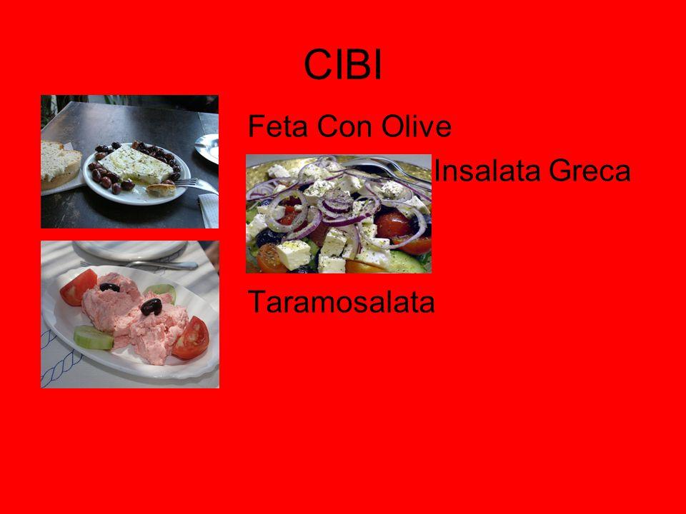 CIBI Feta Con Olive Insalata Greca Taramosalata