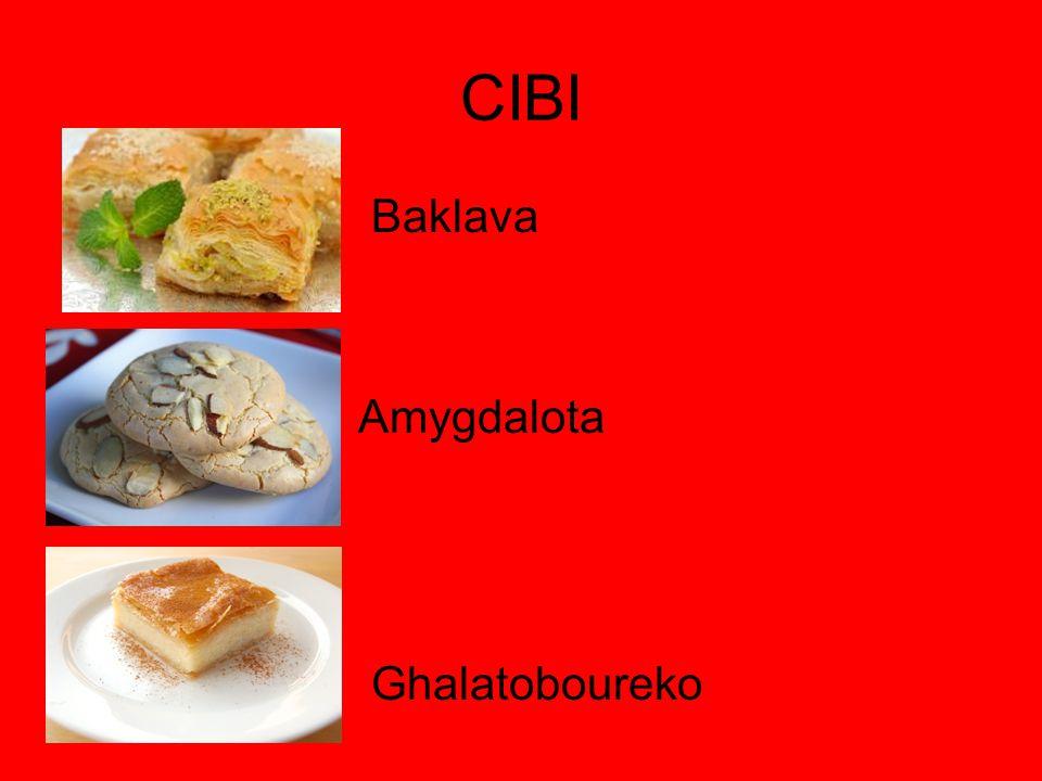 CIBI Baklava Amygdalota Ghalatoboureko