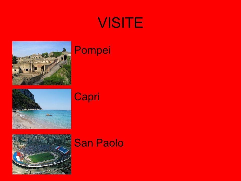 VISITE Pompei Capri San Paolo