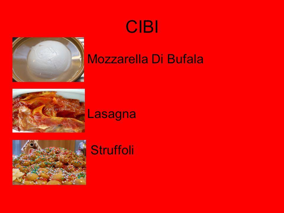 CIBI Mozzarella Di Bufala Lasagna Struffoli