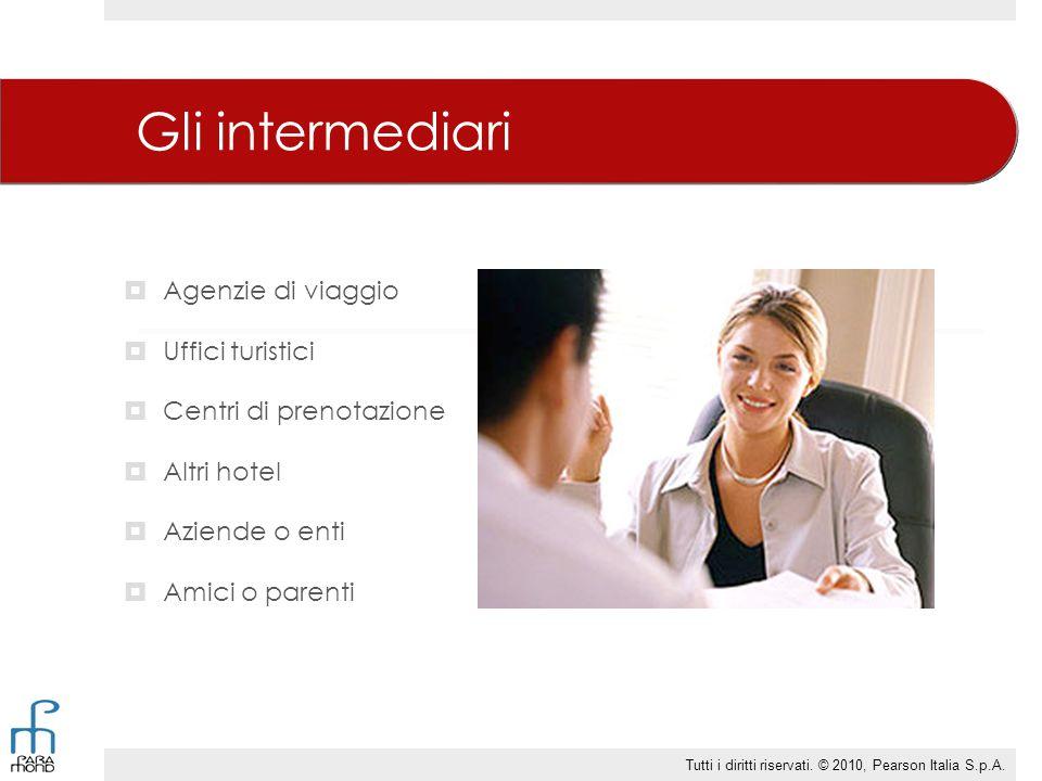 Gli intermediari  Agenzie di viaggio  Uffici turistici  Centri di prenotazione  Altri hotel  Aziende o enti  Amici o parenti Tutti i diritti ris