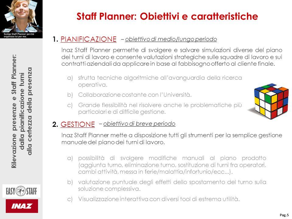 Rilevazione presenze e Staff Planner: dalla pianificazione turni alla certezza della presenza 1.