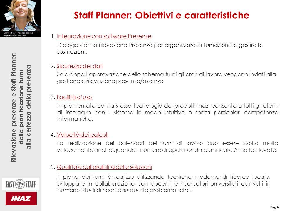 Rilevazione presenze e Staff Planner: dalla pianificazione turni alla certezza della presenza 8.
