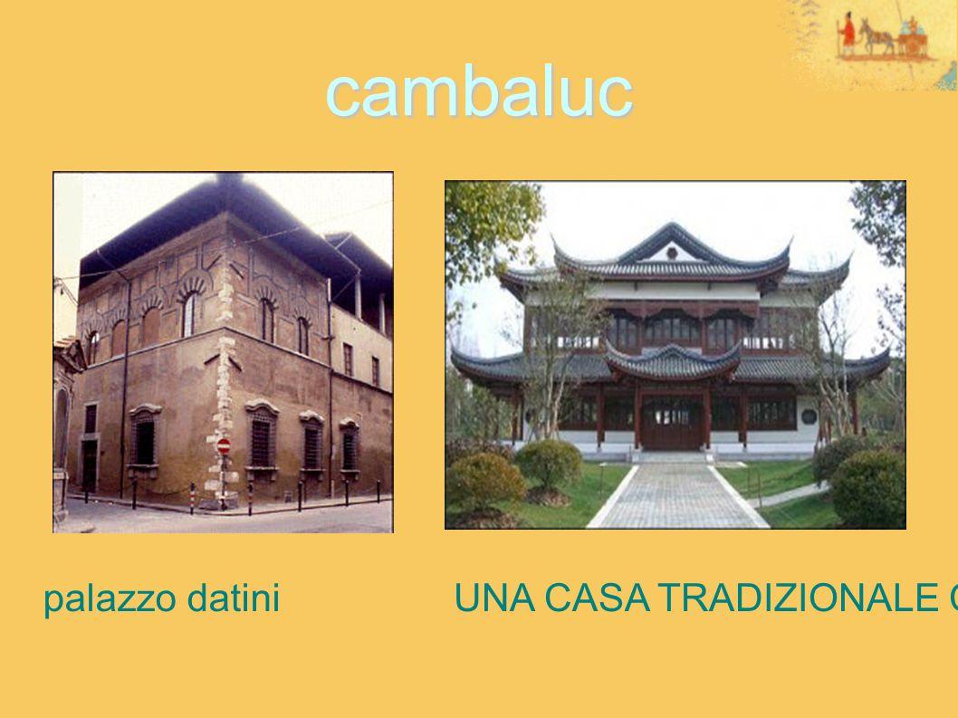 cambaluc palazzo datiniUNA CASA TRADIZIONALE CINESE