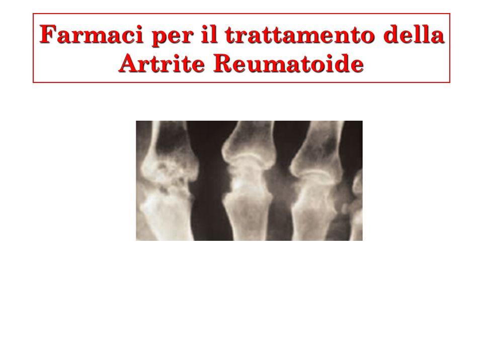 Farmaci per il trattamento della Artrite Reumatoide