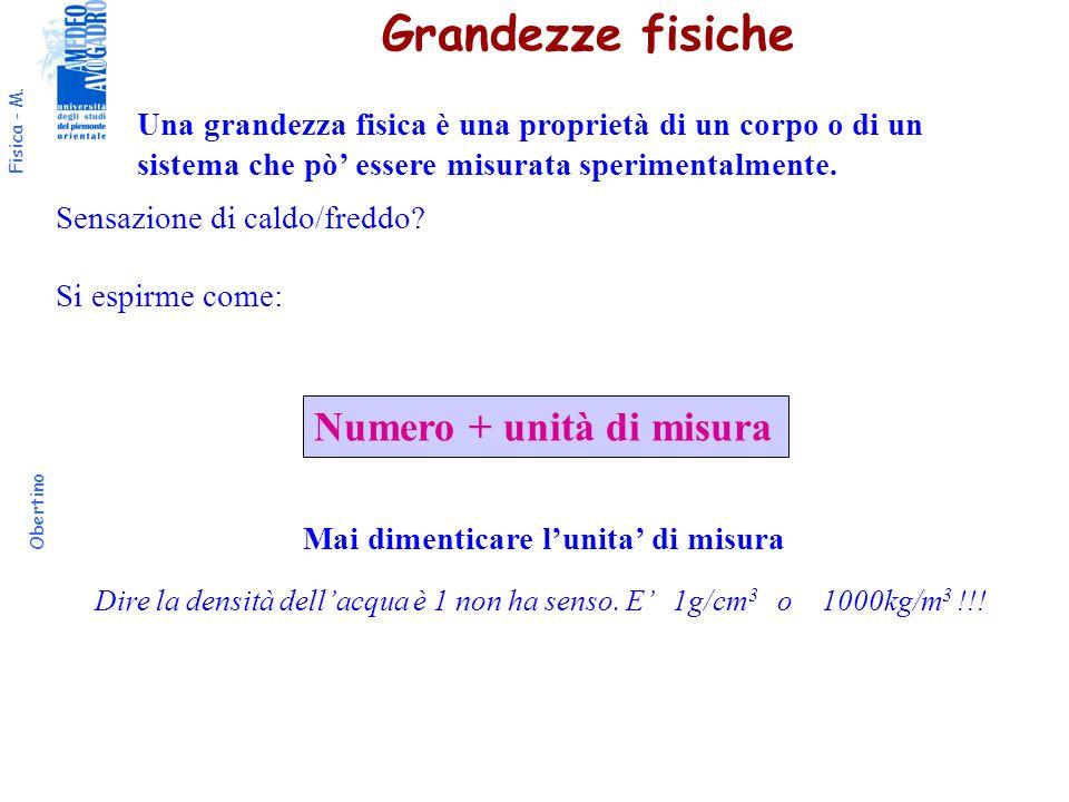 Fisica - M. Obertino v=cost v t s t a=0 s= s 0 + v  t Moto rettilineo uniforme