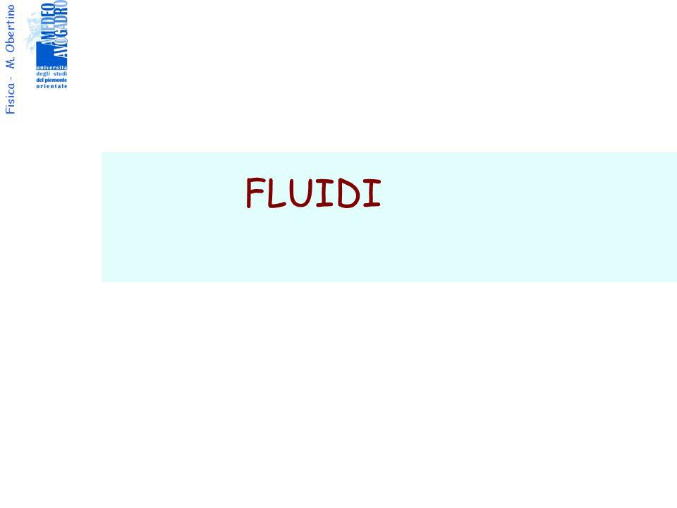 Fisica - M. Obertino FLUIDI
