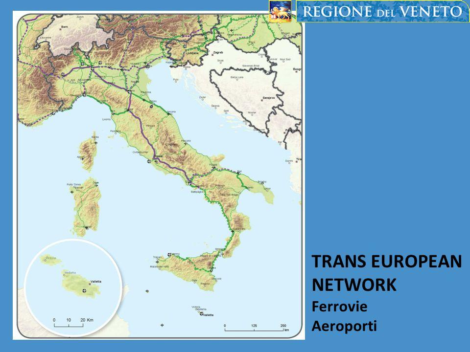 TRANS EUROPEAN NETWORK Ferrovie Aeroporti