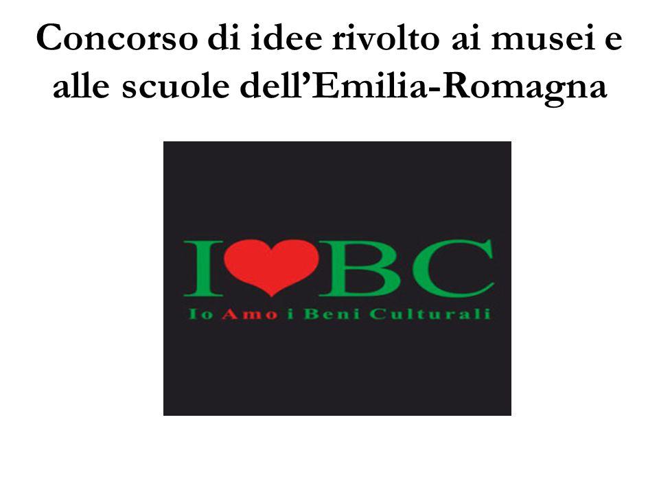 Concorso di idee rivolto ai musei e alle scuole dell'Emilia-Romagna