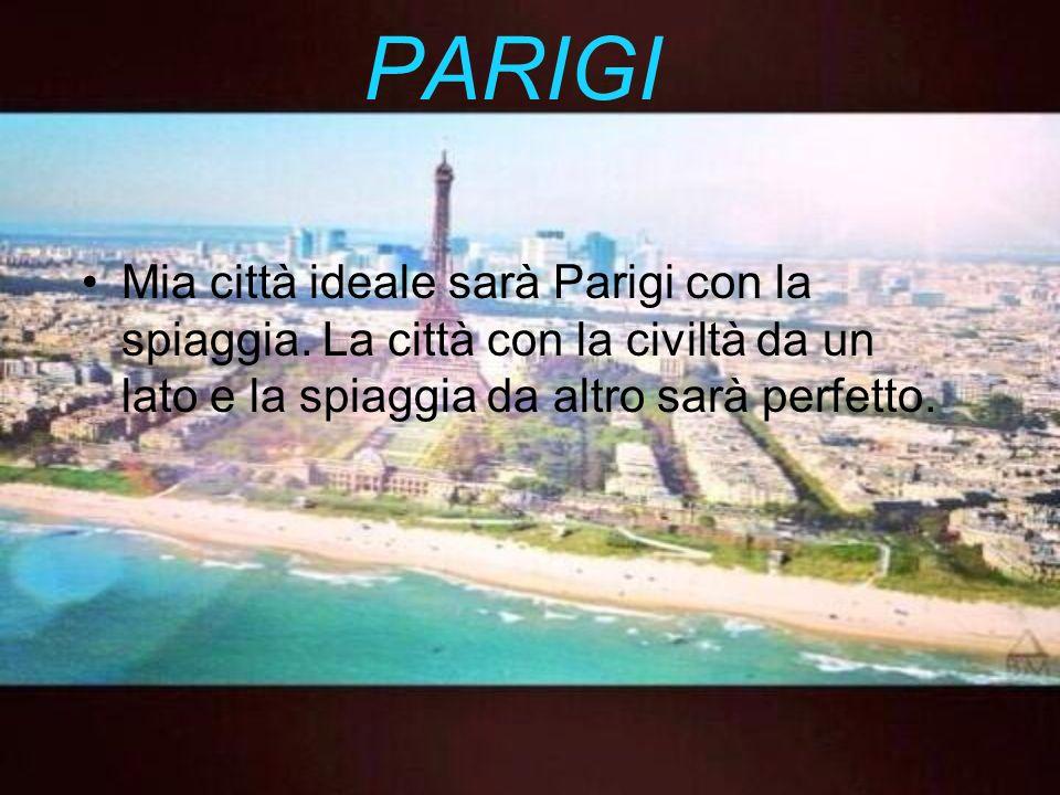 La città Negozi saranno solo nel centro della città.