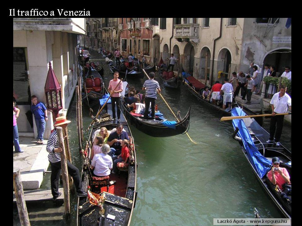 Il traffico a Venezia