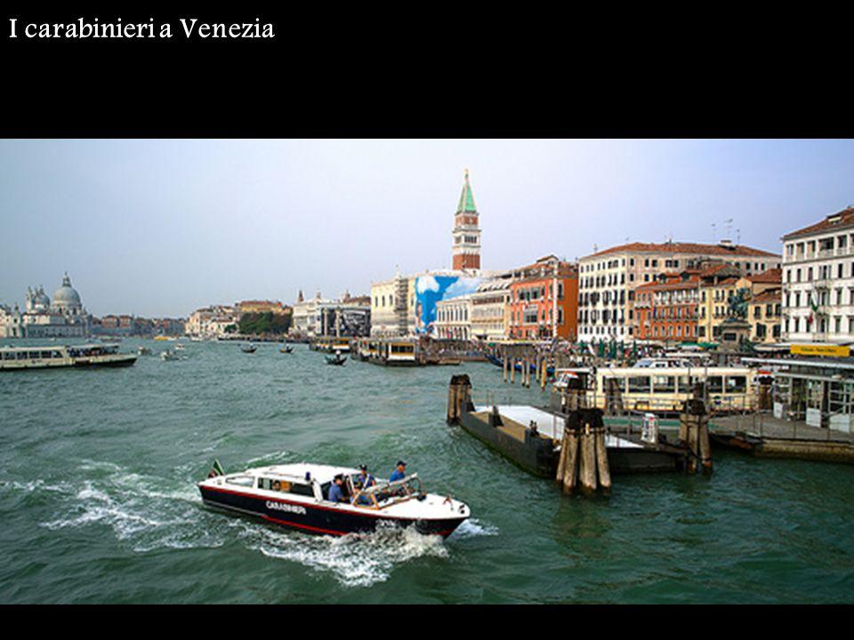 I carabinieri a Venezia