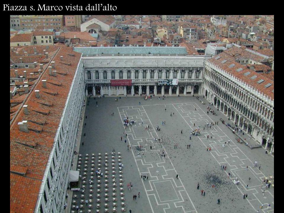 Piazza s. Marco vista dall'alto